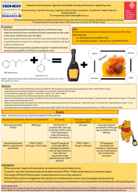 Detection and consumer rejection thresholds of honey-off flavour in sparkling wine