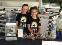 Junior Housing Hero Duo Raises Over $1500 During August