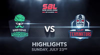 Highlights: Super Boxing League Haryana Warriors vs UP Terminators (July 23, 2017)