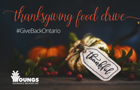 Giving Back | Thanksgiving Food Drive | Sept 16 - Oct 1, 2019