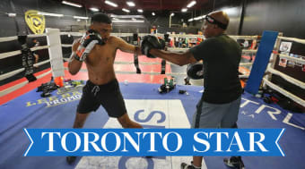 Boxer Sukhdeep Singh Bhatti (Chakria) fights to connect cultures and make history