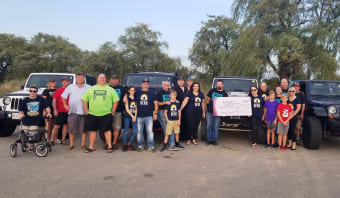 Niagara Area Jeep Club Raises a $4000 Donation for Bethlehem
