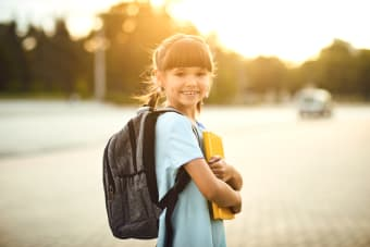 Back to School: Can carrying a backpack hurt your kids back?