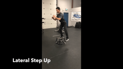 #FitnessFriday Ι Lateral Step Up