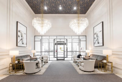 Commercial Design: Luxury Condominium Lobby