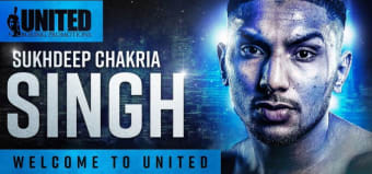 Sukhdeep Singh Chakria signs long-term deal with United Boxing Promotions