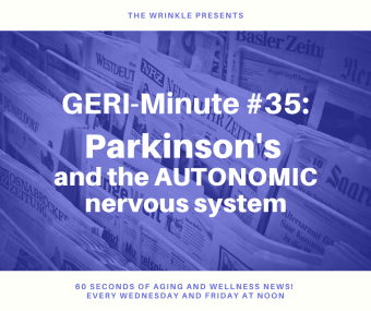 How does Parkinson's affect the AUTONOMIC NERVOUS SYSTEM
