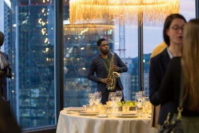 Toronto's elite Professional Event Planners are fêted at a private event in the extraordinary King & Bay lounge