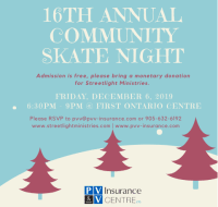 16th Annual Community Skate Night