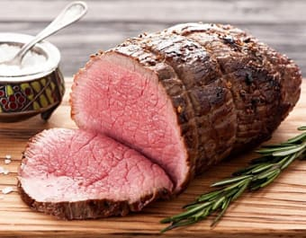 Oh my goodness - Canadian AA Top Sirloin Roast, $6.99 a pound this weekend at Glenburnie Grocery!