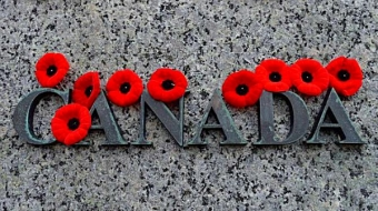 Least we forget, ... we remember our fallen, Remembrance Day, Nov. 11th.