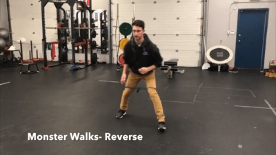 #FitnessFriday Ι Reverse Monster Walks