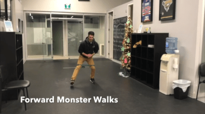 #FitnessFriday Ι Forward Monster Walks