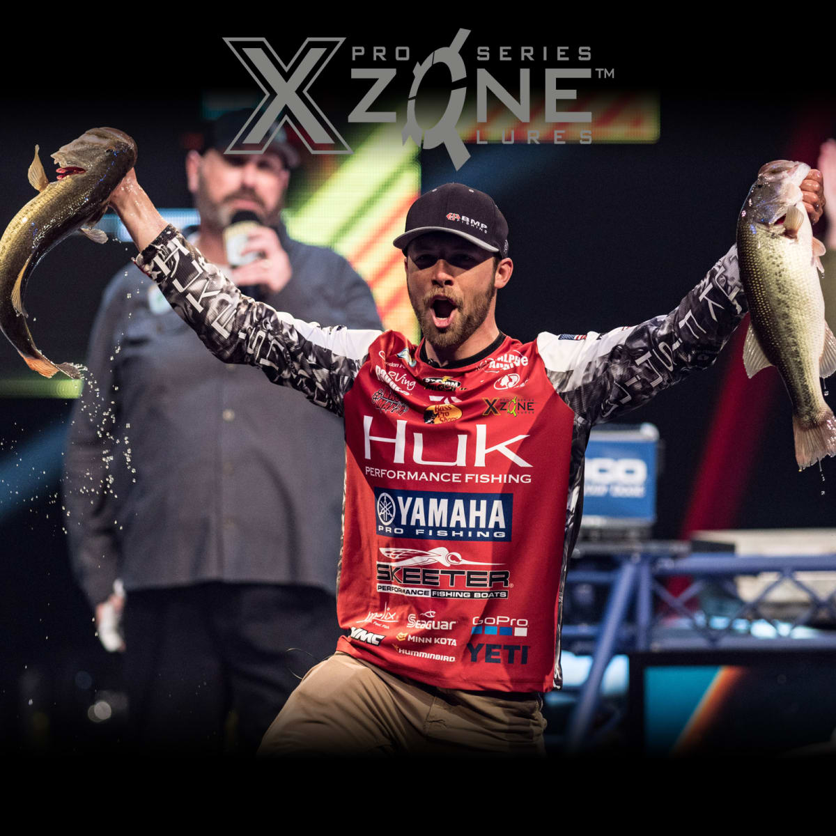 X Zone Lures Signs Brandon Palaniuk