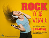 Rock Your Website: Bring Music To Your Ears - Ka-Ching!