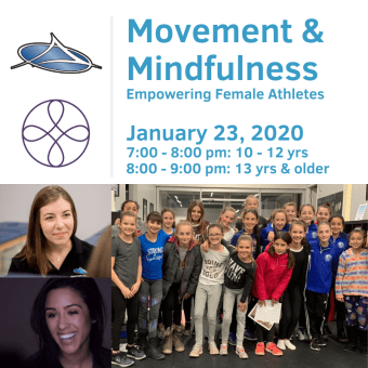 Movement & Mindfulness Workshop Ι Empowering Female Athletes Ι January 23, 2020
