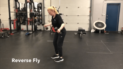 #FitnessFriday Ι Reverse Fly
