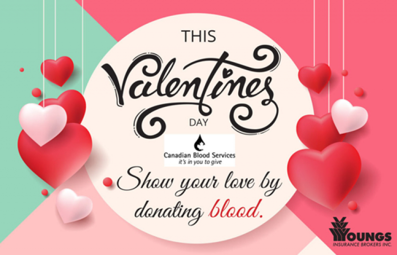 Giving Back | Valentine's Day Blood Drive - Feb 13