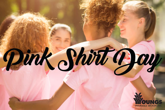 Giving Back | Pink Shirt Day | February 26, 2020