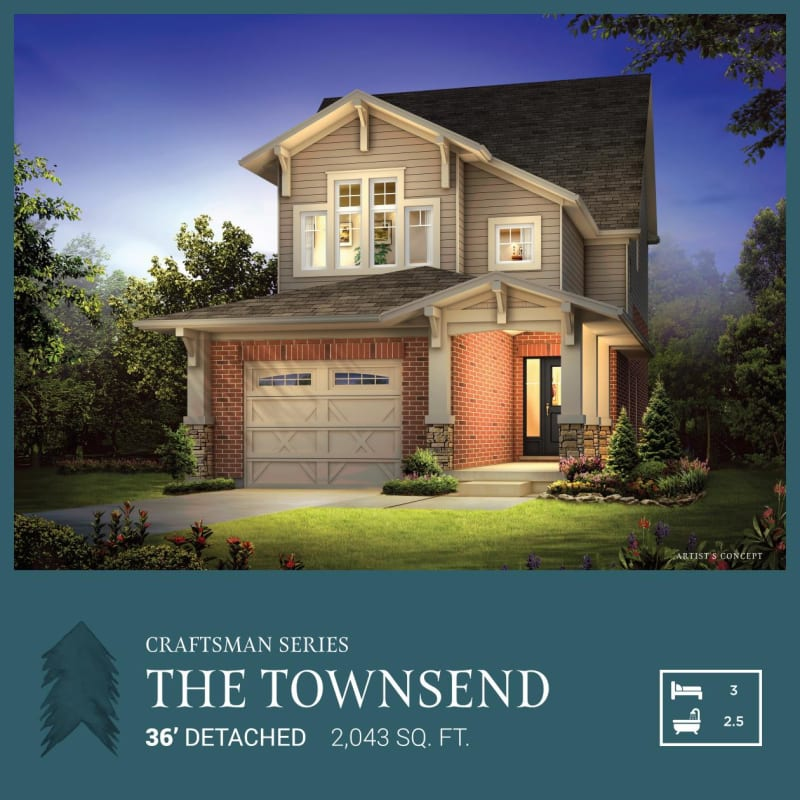 Craftsman Series | The Townsend<br /><span style='font-size: 10pt;'>Pinehurst</span>