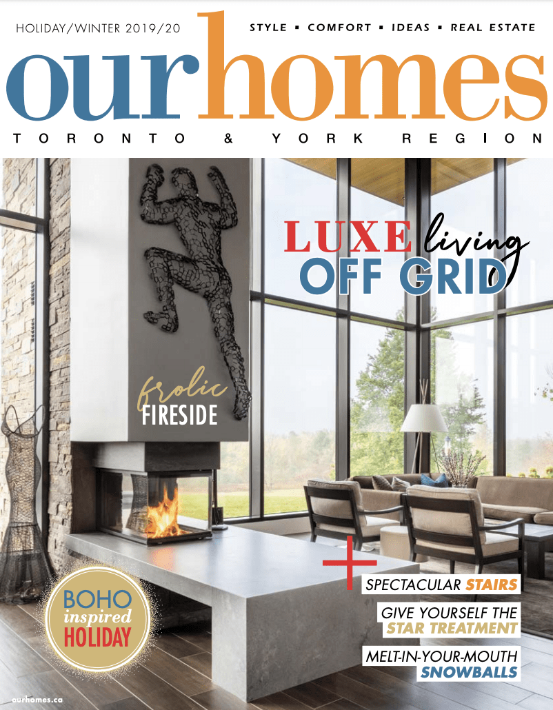 Our Homes Magazine Feature Winter 2019