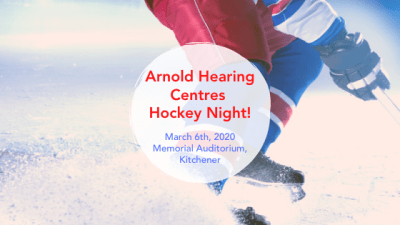 Arnold Hearing Centres Hockey Night!