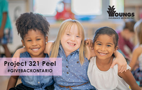 Giving Back | Project 321 Peel Down Syndrome Association
