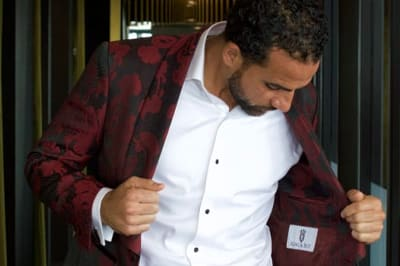 One gorgeous smoking jacket gives Dwayne De Rosario three fabulous looks