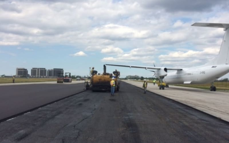 Paving Pearson: The challenges of paving Canada's busiest airport