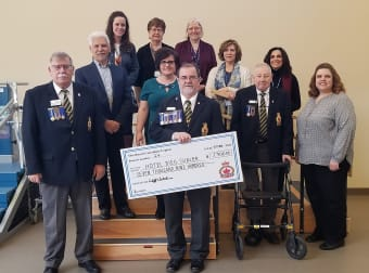 15 years of giving for Royal Canadian Legion Branch 24