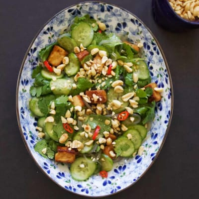 Why Ontario Greenhouse Cucumbers are Golden + Spicy Cucumber & Glass Noodle Salad