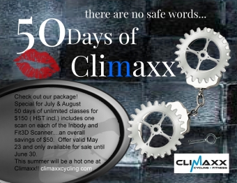 50 Days of Climaxx