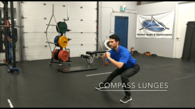 #FitnessFriday Ι Compass Lunges
