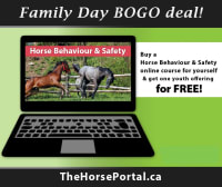 Early and Extended Access to ONLINE Horse Behaviour and Safety Course for Youth & Adults