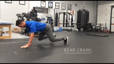 #FitnessFriday Ι Bear Crawl