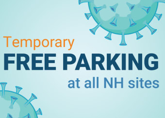 Temporary Free Parking at all Niagara Health Sites