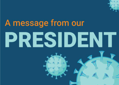 A message to our community from President Lynn Guerriero