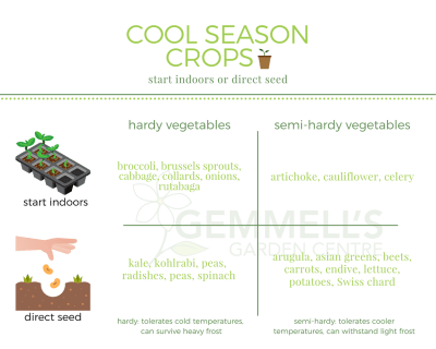 Cool Weather Crops, Soil & Seeding | Ottawa, Smiths Falls, Barrhaven