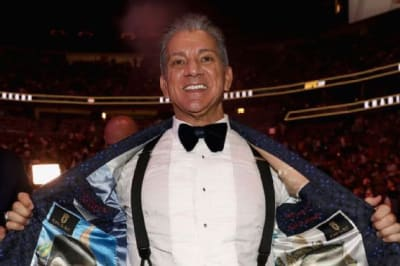 UFC legend and James Bond superfan Bruce Buffer channels inner 007 with custom smoking jackets