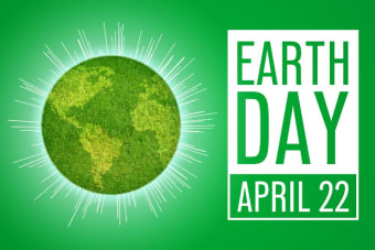 Five easy ways to Celebrate Earth Day's 50th anniversary at home