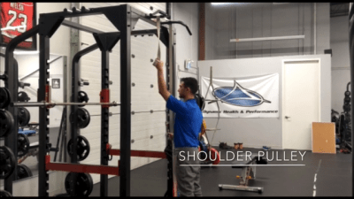 #FitnessFriday Ι Shoulder Pulley