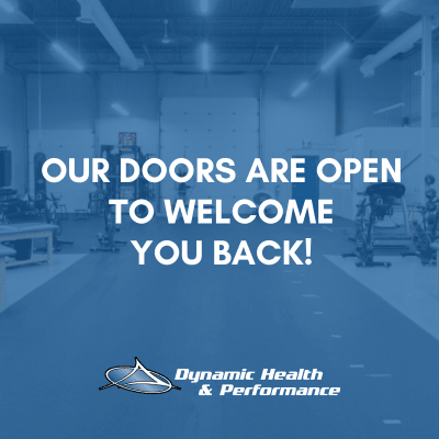Our Doors Are Open to Welcome you Back!
