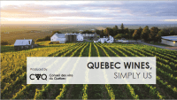 CVQ: Quebec Wines, Simply Us