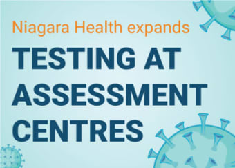 Self-referrals to Niagara's COVID-19 Assessment Centres