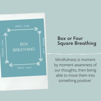 Box or Four Square Breathing