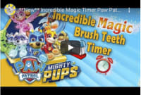 2 Minute Video Timers to Keep Your Little One Brushing
