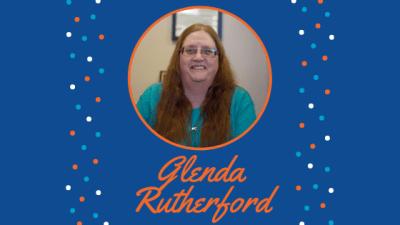 Get to know Glenda Rutherford!