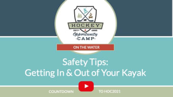 On the Water: Getting In & Out of Your Kayak