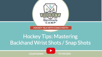 Hockey Talk: Mastering Back Hand Shots