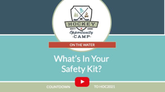 On the Water: What's In Your Safety Kit?